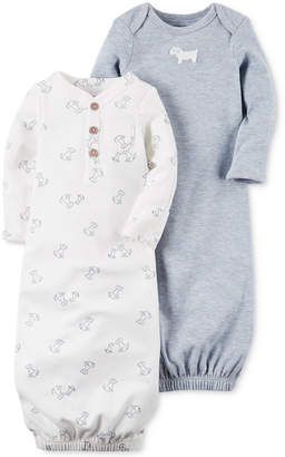 Carter's 2-Pk. Puppy Sleeper Gowns, Baby Boys (0-24 months) $12.98 thestylecure.com