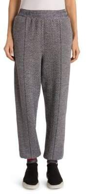 Stella McCartney Mixed Media Jogger Pants