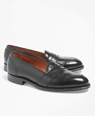 Brooks Brothers Cordovan Low Vamp Loafers