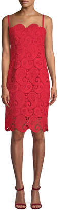 Nanette Lepore Women's Little Secrets Lace Sheath Dress