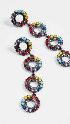 Elizabeth Cole Minka Linear Drop Earrings