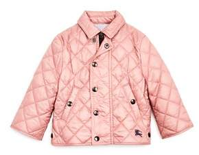 Burberry Girls' Mini Lyle Quilted Jacket - Baby
