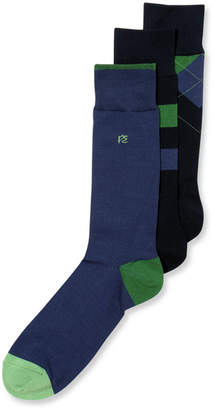Perry Ellis Men's 3-Pk. Print Socks