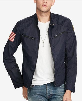Denim & Supply Ralph Lauren Men's Motorcycle Jacket $185 thestylecure.com