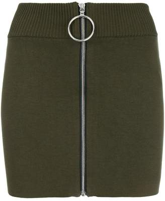 Paco Rabanne knitted mini skirt