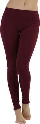 ToBeInStyle Women's Full Length Cotton Leggings - L