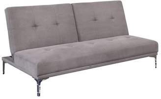 Abbyson Living Spektor Velvet Sofa Bed, Wood Base
