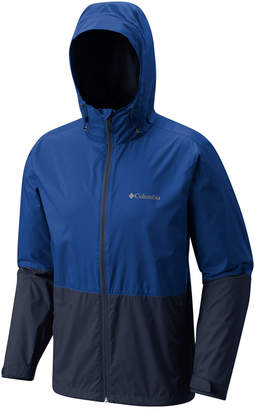 Columbia Men Roan Mountain Colorblocked Rain Jacket