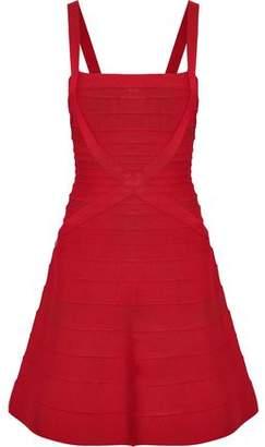 Herve Leger Faith Bandage Mini Dress