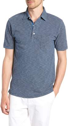 Faherty Feeder Stripe Jersey Polo