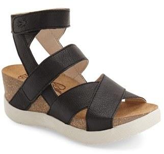 Women's Fly London 'Wege' Leather Sandal $214.95 thestylecure.com