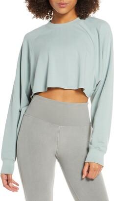 Alo Double Take Crop Sweatshirt