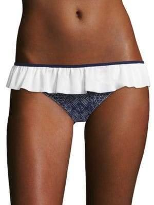 Jonathan Simkhai Ruffled Bikini Bottom