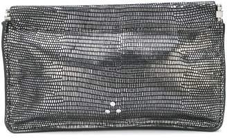 Jerome Dreyfuss Clic Clac metallic clutch