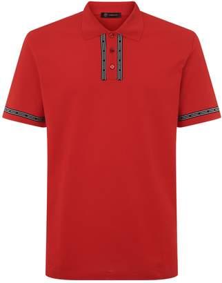 Versace Logo Band Polo Shirt