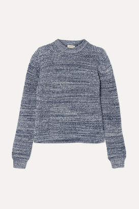 By Malene Birger Hanso Cotton-blend Sweater - Navy