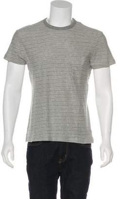 Officine Generale Striped Short Sleeve T-Shirt