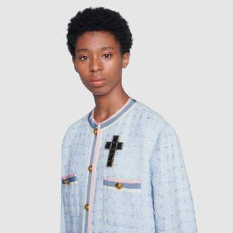 Gucci Brooch with cross