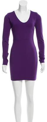 Robert Rodriguez Long Sleeve Mini Dress