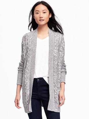 Cable-Knit Open-Front Cardi for Women $54.94 thestylecure.com