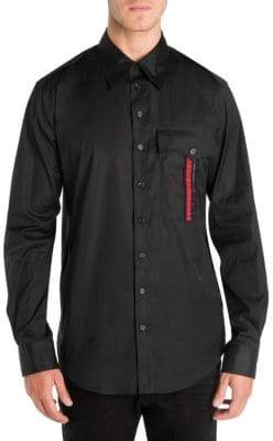 DSQUARED2 Military Button-Down Shirt
