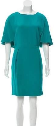 Gucci Silk Mini Dress w/ Tags Turquoise Silk Mini Dress w/ Tags