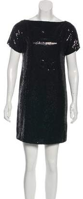 Robert Rodriguez Sequin Cocktail Dress