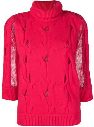 Blumarine turtle neck jumper