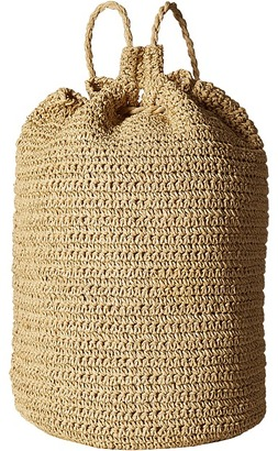 Hat Attack - Drawstring Backpack Backpack Bags $90 thestylecure.com