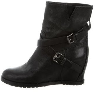Miu MiuMiu Miu Wedge Ankle Boots