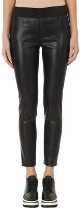 Stella McCartney Black Faux Leather Leggings