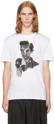 Neil Barrett White Freedom Fighters T-Shirt