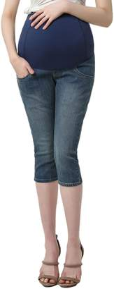 Kimi and Kai Courtney Capri Maternity Skinny Jeans