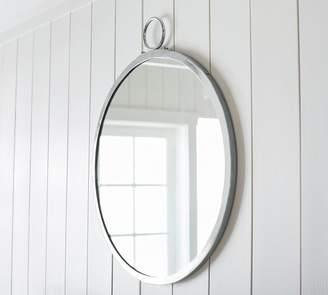 Pottery Barn Logan Round Mirror