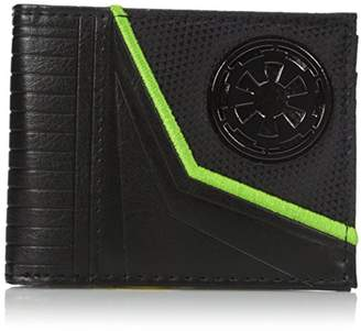 Bioworld Men's Star Wars Rogue One Empire Logo Bi-fold Wallet