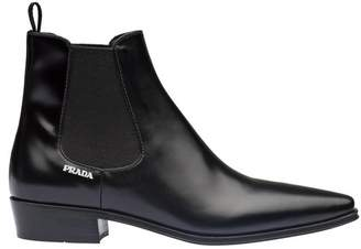 Prada Leather Booties
