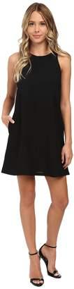 Brigitte Bailey Crepe Tank A-Line w/ Pockets Dress Women's Dress