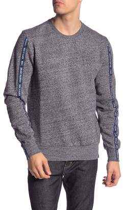 Scotch & Soda Branded Tape Sleeve Pullover