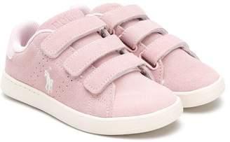 Ralph Lauren Kids touch strap fastening sneakers