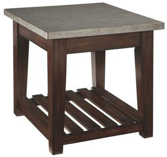 Union Rustic Milligan End Table