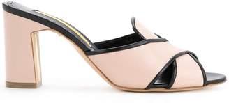 Rupert Sanderson mule sandals