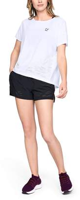 Under Armour Women's UA Perpetual Woven Short Sleeve