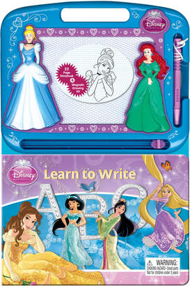 Princess Learn to Write Storybook & Magnetic Drawing Kit