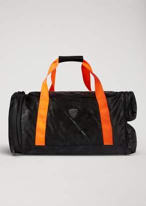 Emporio Armani Ea7 Train Soccer Gym Bag