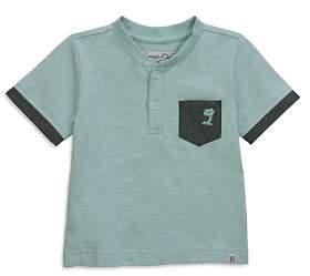 Sovereign Code Boys' Short-Sleeve Palm Tree Henley - Little Kid