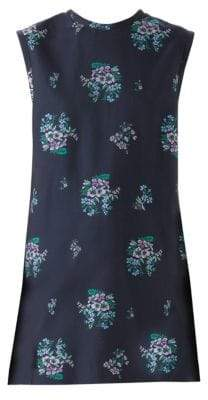 Gucci Floral Fil Coupe Sleeve Tunic