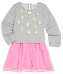 Design History Little Girl's Sweater Tutu Dress