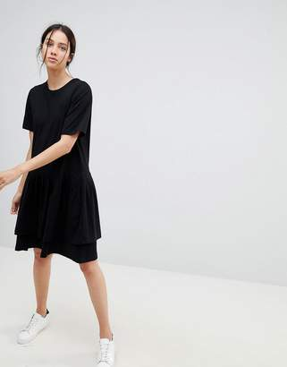 Building Block KOWTOW Kowtow Tiered Mini Dress in Organic Cotton