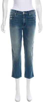 Mother Mid-Rise Cropped Jeans w/ Tags