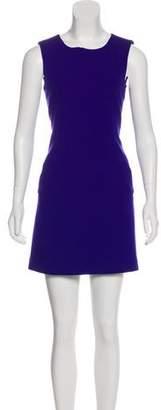 Diane von Furstenberg Mini Sleeveless Dress